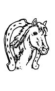 tampon enfant fer-o-cheval